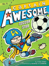 Captain Awesome, soccer star book