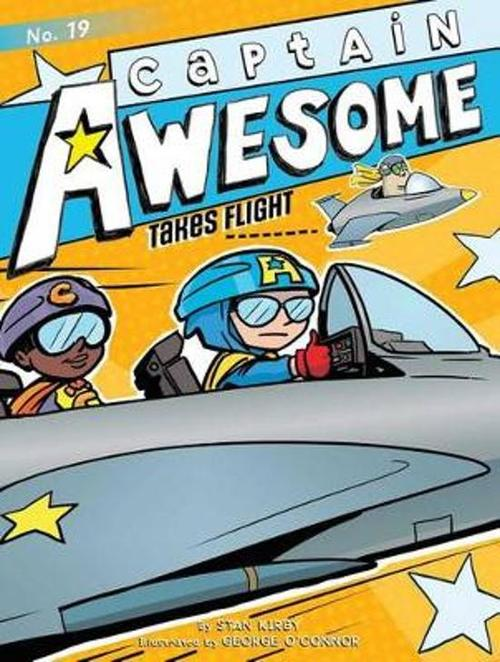 Captain Awesome Takes Flight book