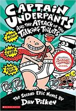 Captain Underpants and the Attack of the Talking Toilets book