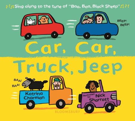 Car, Car, Truck, Jeep book