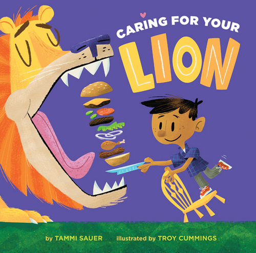 Caring for Your Lion book