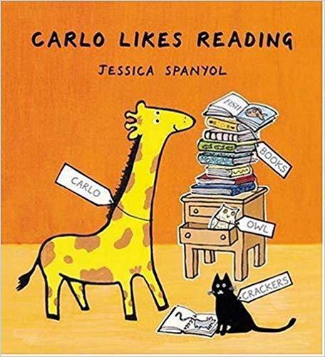 Carlo Likes Reading book
