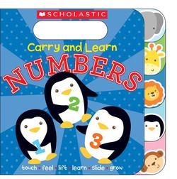 Carry and Learn Numbers book
