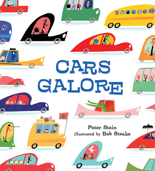 Cars Galore book