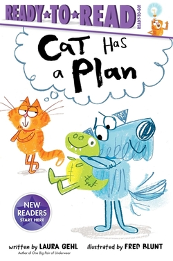 Cat Has a Plan book