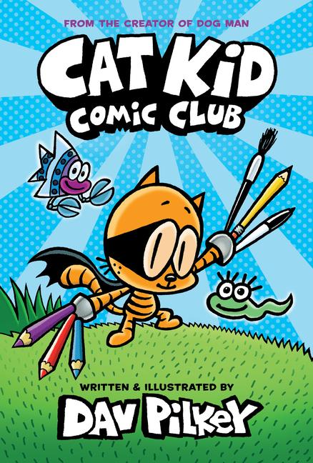 Cat Kid Comic Club book