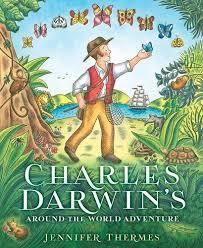 Charles Darwin's Around-The-World Adventure Book