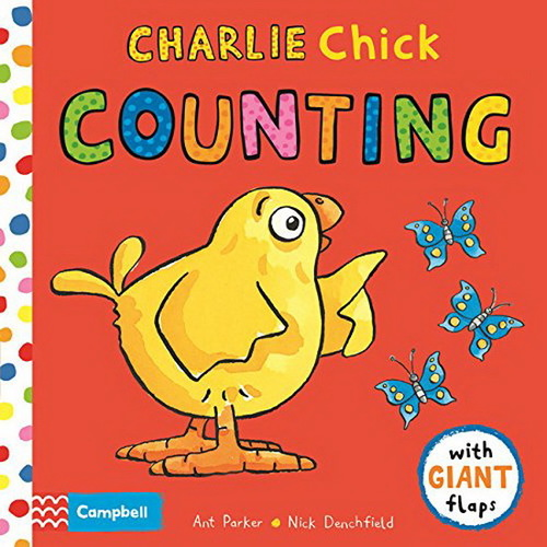 Charlie Chick Counting book