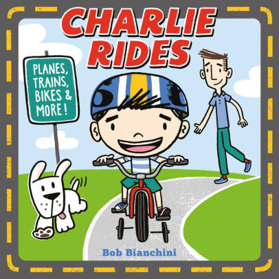 Charlie Rides book