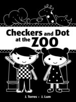 Checkers and Dot at the Zoo book