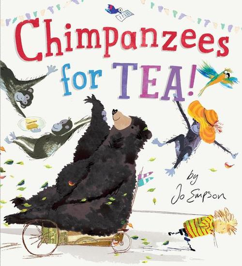 Chimpanzees for Tea! book