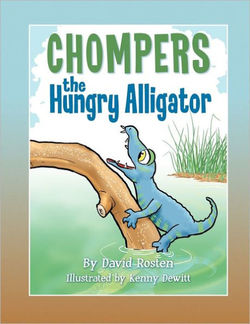 Chompers the Hungry Alligator book