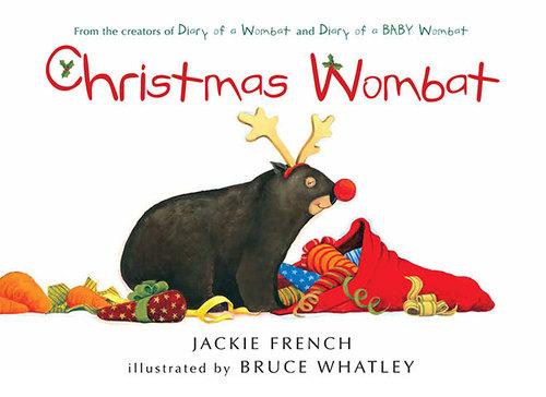 Christmas Wombat book