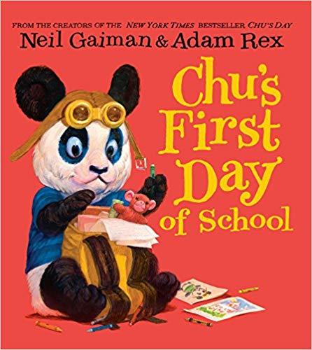 Chu's First Day of School book