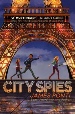 City Spies book