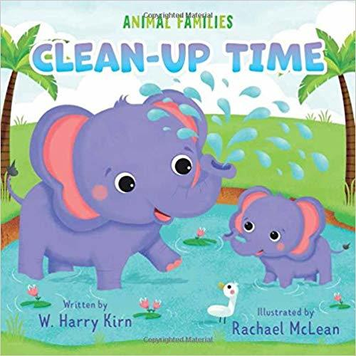 Clean-up Time book