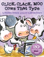 Click, Clack, Moo: Cows That Type (Anniversary) book