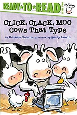 Click, Clack, Moo/Ready-to-Read: Cows That Type (A Click Clack Book) book