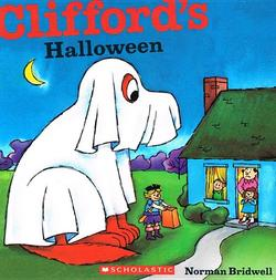 Clifford's Halloween book