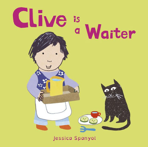 Clive Is a Waiter book