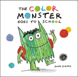Color Monster Goes to School book
