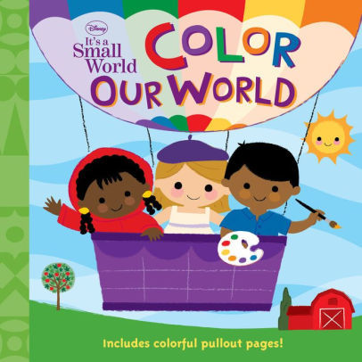 Color Our World book