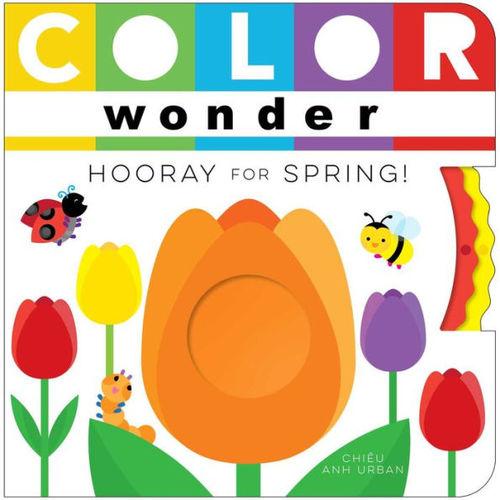 Color Wonder Hooray for Spring! book