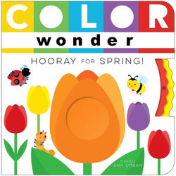 Color Wonder Hooray for Spring! book