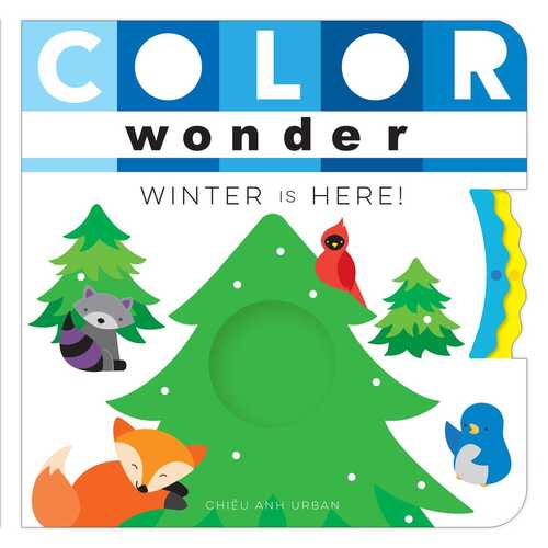 Color Wonder Winter Is Here! book