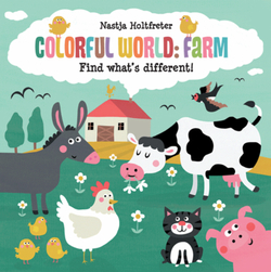 Colorful World: Farm book