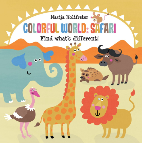 Colorful World: Safari book