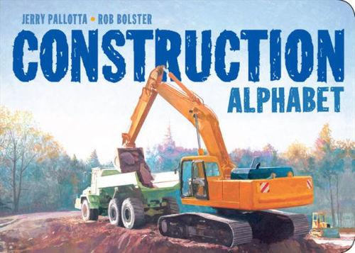 Construction Alphabet book