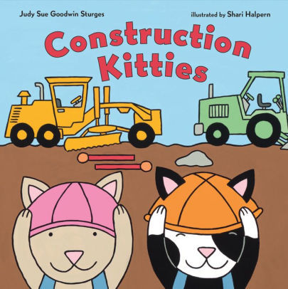 Construction Kitties book