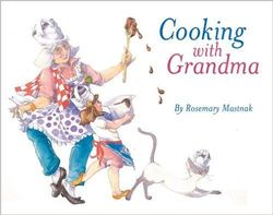 Cooking with Grandma book