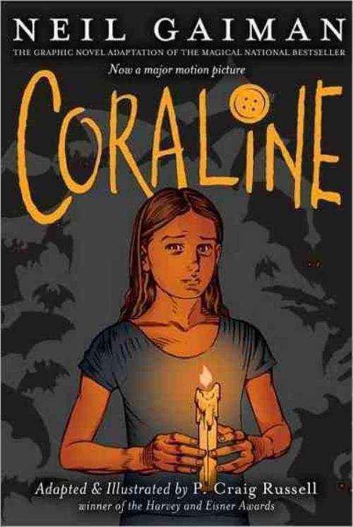 Coraline Graphic Novel book