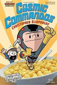Cosmic Commandos book
