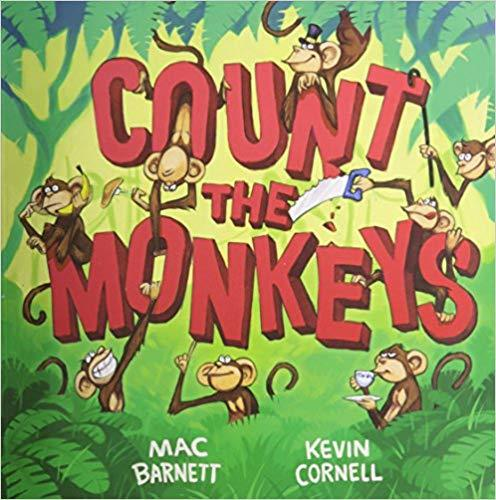 Count the Monkeys book