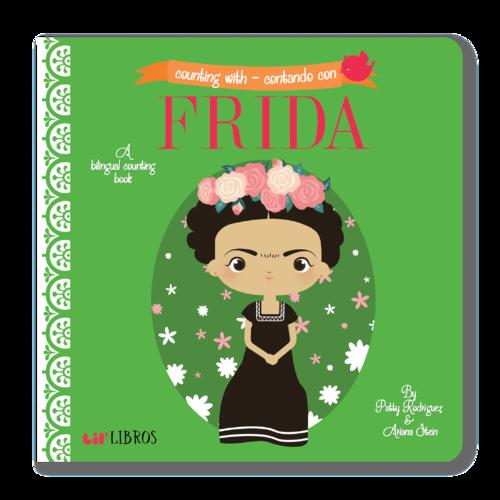 Counting with Frida / Contando con Frida (Lil' Libros: English - Spanish) book