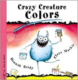 Crazy Creature Colors book