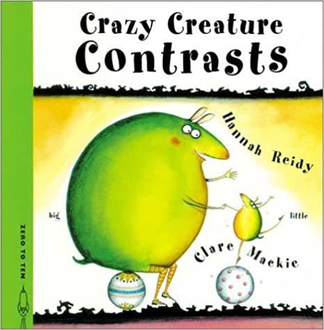 Crazy Creature Contrasts book