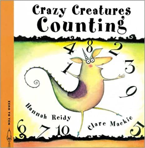 Crazy Creatures Counting book