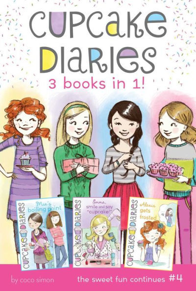 Cupcake Diaries 3 Books in 1! #4 book
