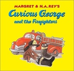 Curious George and the Firefighters book