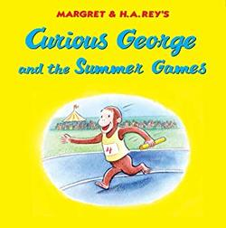 Curious George and the Summer Games book