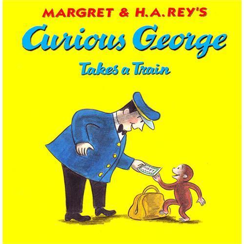 Curious George Takes a Train Book