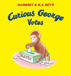 Curious George Votes book