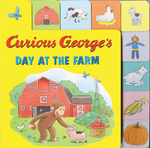 Curious George's Day at the Farm book
