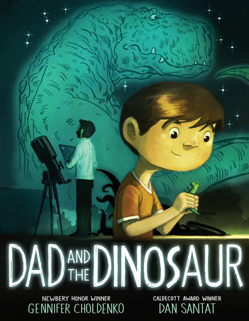 Dad and the Dinosaur book