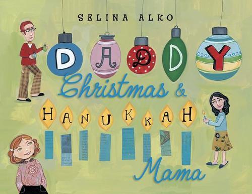 Daddy Christmas & Hannukah Mama book