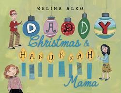 Daddy Christmas & Hannukah Mama book